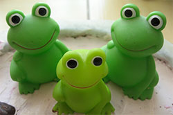 Three Spirits Like Frogs